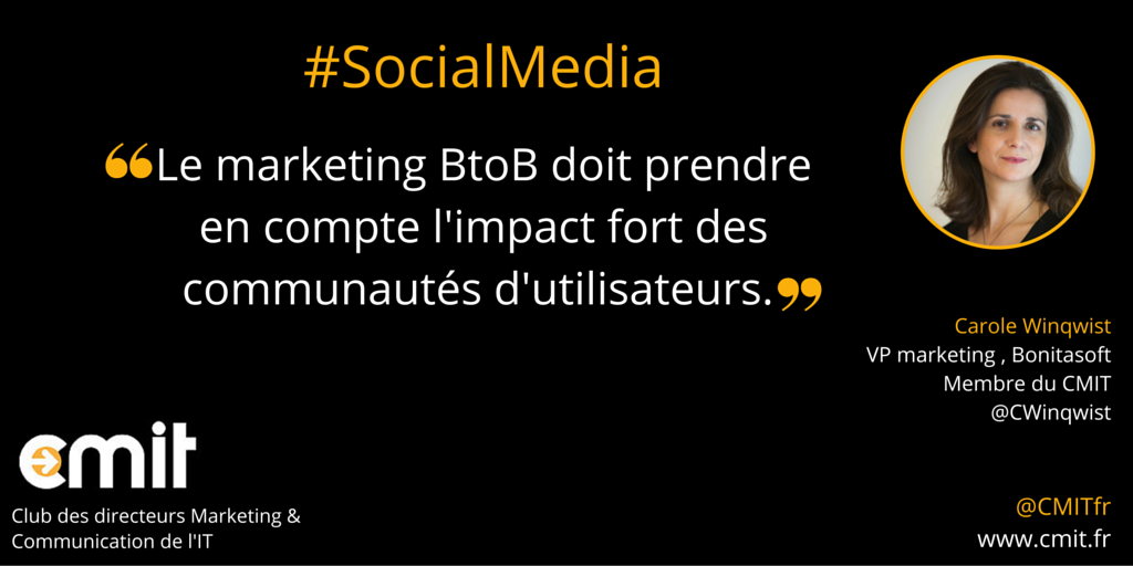 Citation CMIT Carole Winqwist Social Media