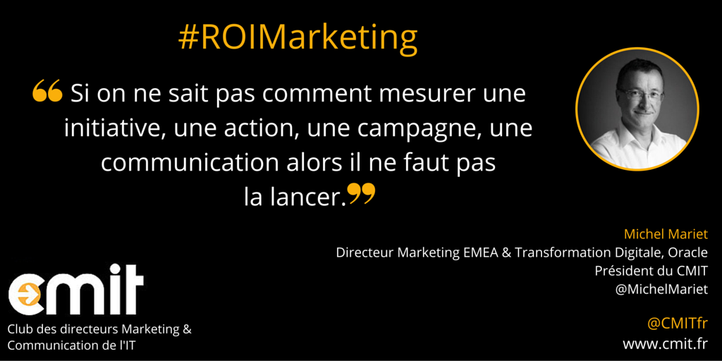 Citation CMIT Michel Mariet #ROI2