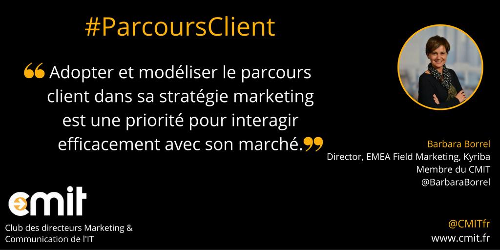 Citation CMIT Barbara Borrel Parcours Client