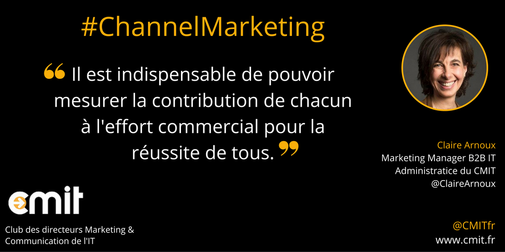 Citation CMIT Claire Arnoux Channel Marketing