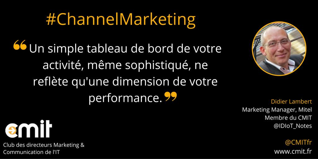 Citation CMIT Didier Lambert Channel Marketing