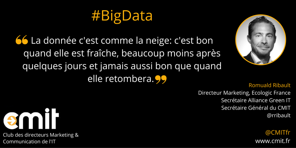Citation CMIT Romuald Ribault #BigData2
