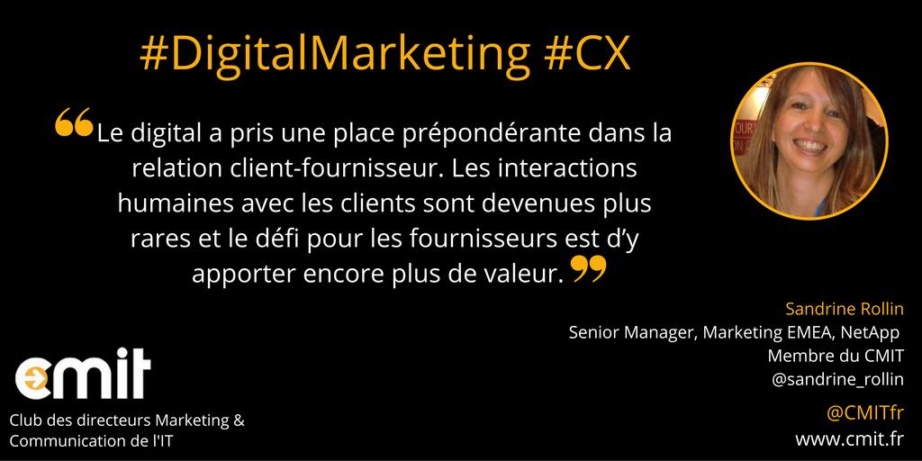 Citation CMIT Sandrine Rollin Digital Marketing
