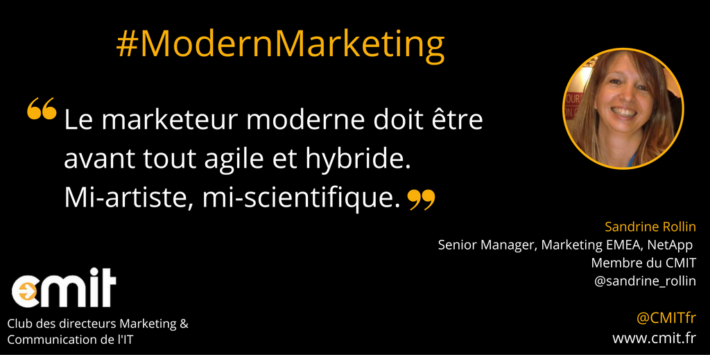 Citation CMIT Sandrine Rollin Modern Marketing