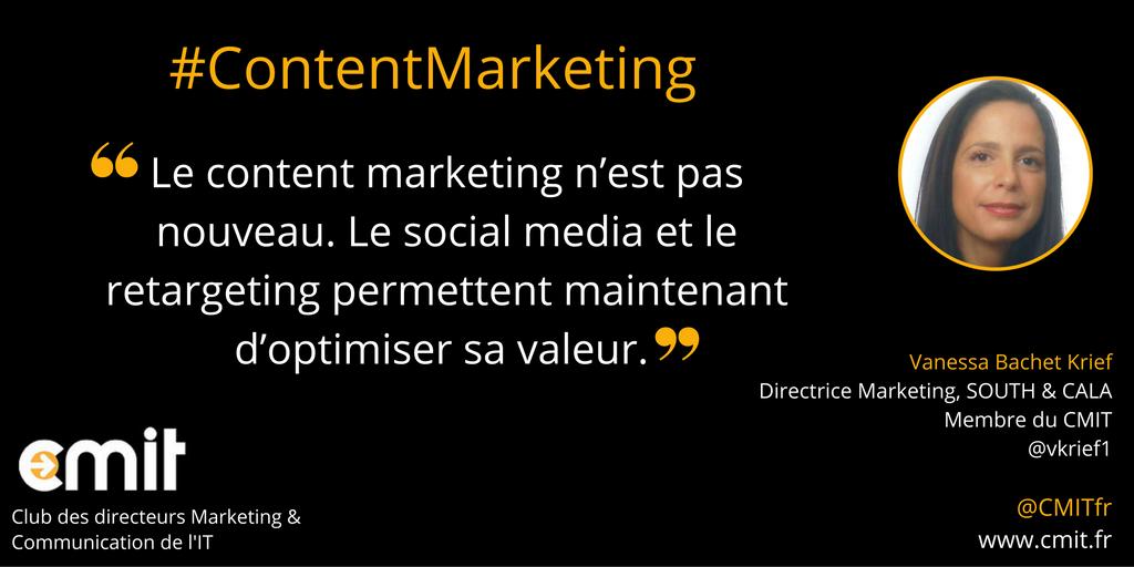 Citation CMIT Vanessa Bachet Krief Content Marketing