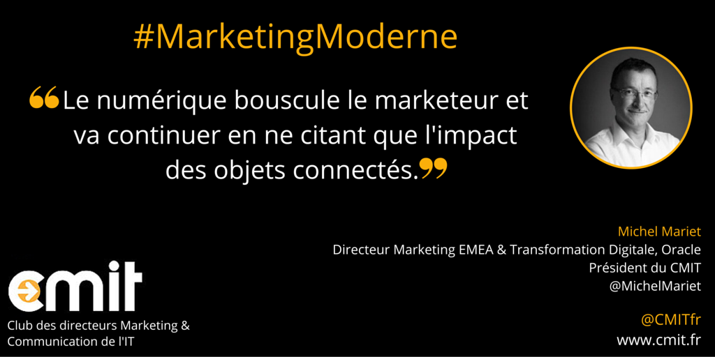 Citation CMIT Michel Mariet Marketing Moderne