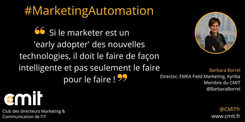 Citation CMIT Barbara Borrel Marketing Automation