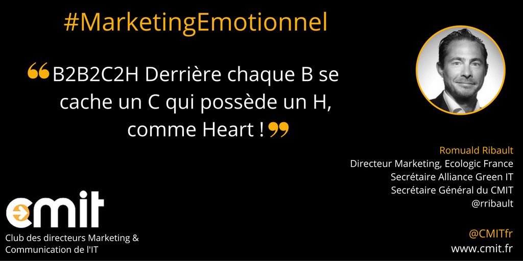 Citation CMIT Romuald Ribault Marketing Emotionnel