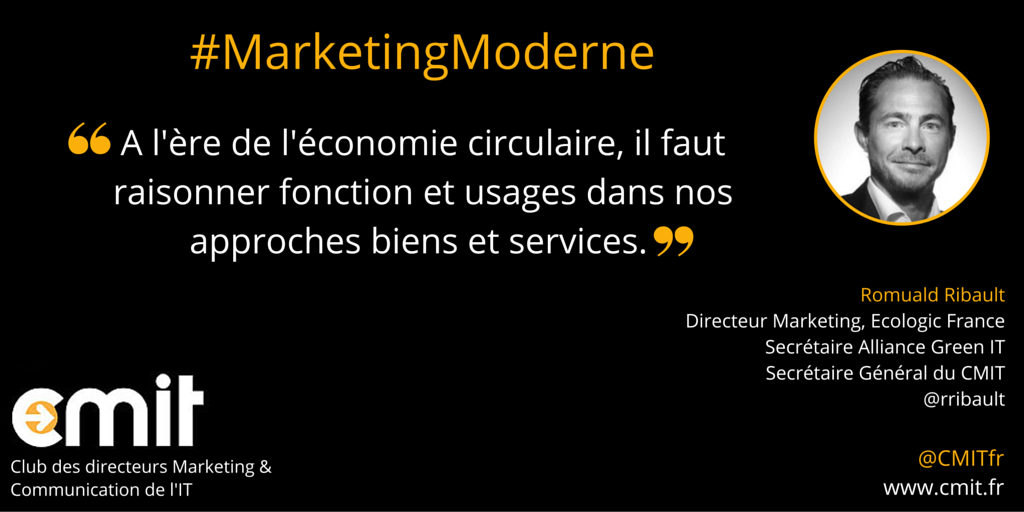 Citation CMIT Romuald Ribault #MarketingModerne